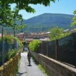 Retour au village d'Annot