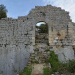 Porte d'entrée Fort de Buoux