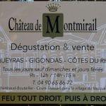 Panneau Du Château de Montmirail